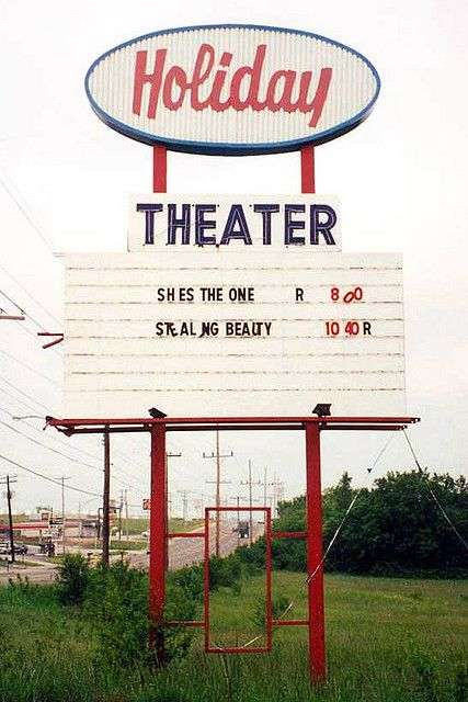 Holiday Drive-In Theater Rt. 66 Springfield, MO -  Besides the Holiday, Springfield also had, The Queen City Twin, Hi-M Drive-In, The Sunset and The Springfield Drive-In. All are gone now, The Holiday was the last to go dark.