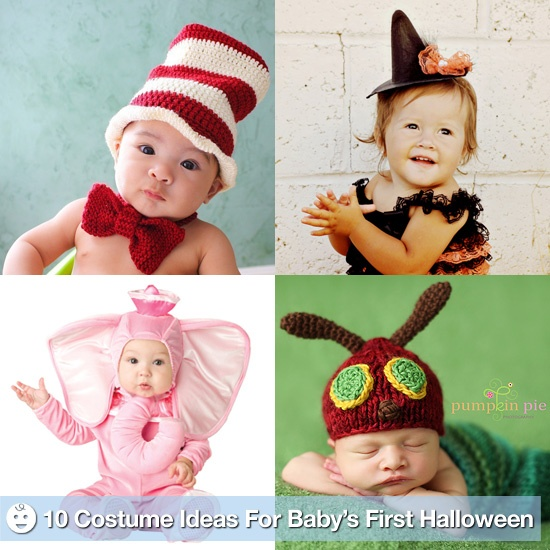 10 costume ideas for baby's 1st Halloween