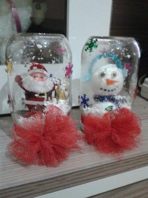Noel baba ve kardan adam :)
