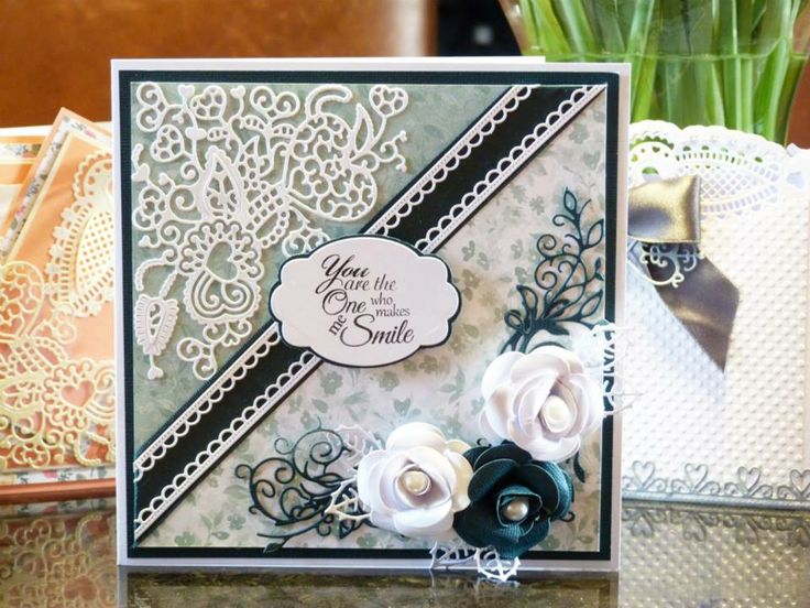 Marvelous Lace Card Making Ideas Part - 8: Tattered Lace Card