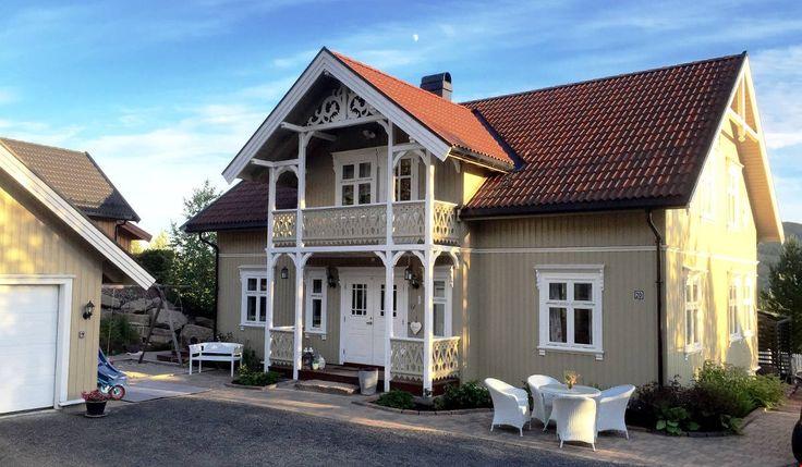 nybygg kopi av Sveitserhus i Hostvedt - Stiltre
