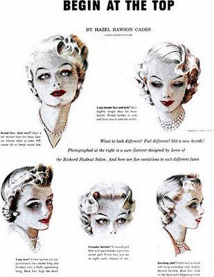 begin at the top: Hair Ideas, Vintage Hairstyles, Vintage Hair Style, 1950S Hairstyles, Hairstyle Ideas, Fingers Waves, Hairstyles Ideas, Finger Waves, Waves Darlingvintagehairdo
