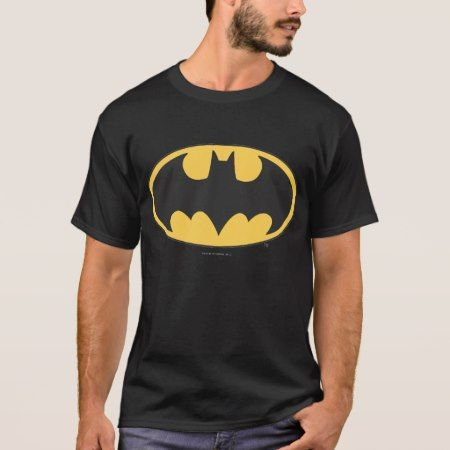 Batman Symbol | Oval Logo T-Shirt - tap, personalize, buy right now!