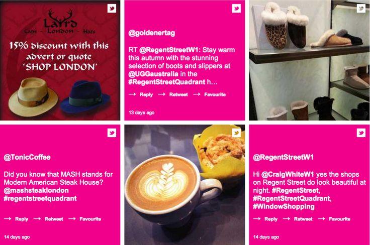 Share your #RegentStreetQuadrant images and experiences on 24/7, Regent Street's social media hub by visiting:   http://247.regentstreetonline.com/