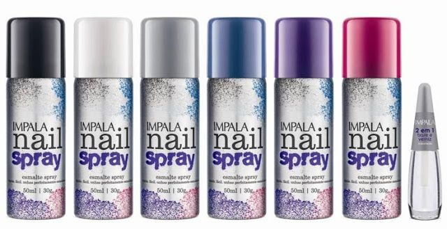 Estrela da Manhã: Impala lança linha de esmaltes em Spray http://lucimarestreladamanha.blogspot.com.br/2016/06/impala-lanca-linha-de-esmaltes-em-spray.html #impala #unhas #mãos #cores #lançamento #tendencia