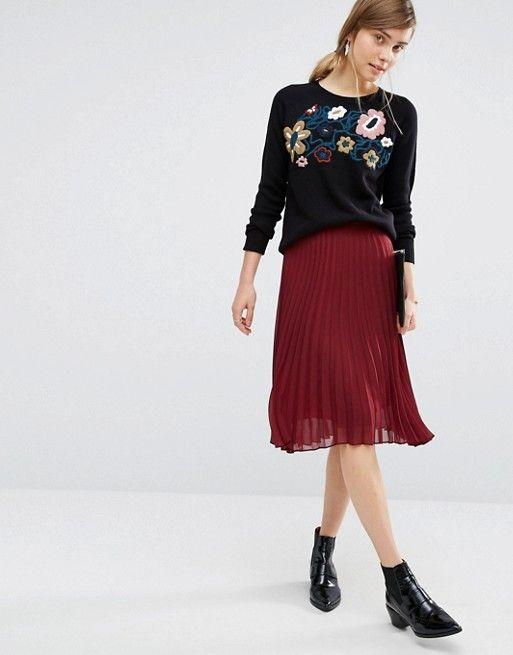 Vero Moda | Vero Moda - Maglione con ricami floreali
