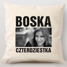 Poduszka personalizowana BOSKA idealny na urodziny