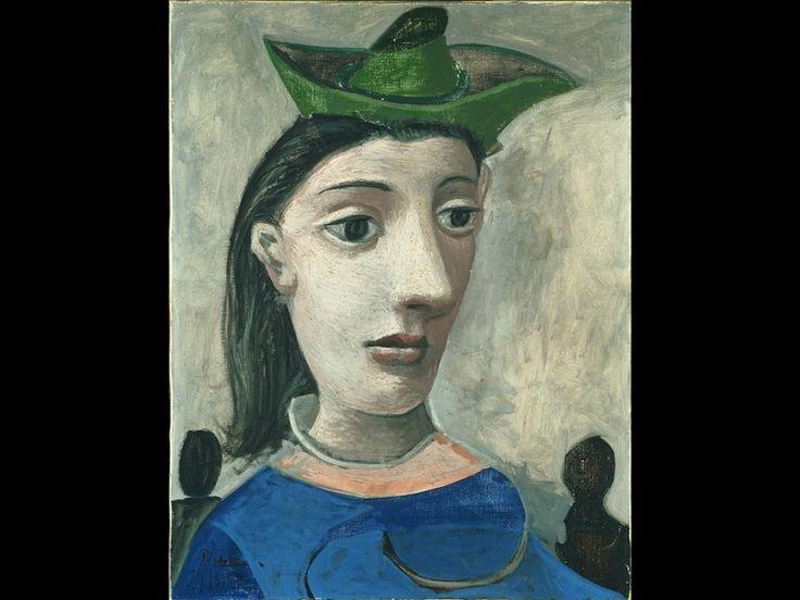 Pablo Picasso, Donna con cappello verde, 1939