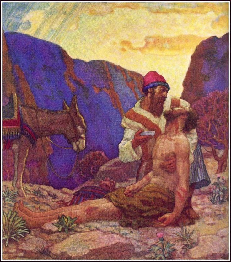 Illustrator: NC wyeth The parables of Jesus.  I'll let you guess which one  this is.  Golden Age Comic Book Stories: Brandywine