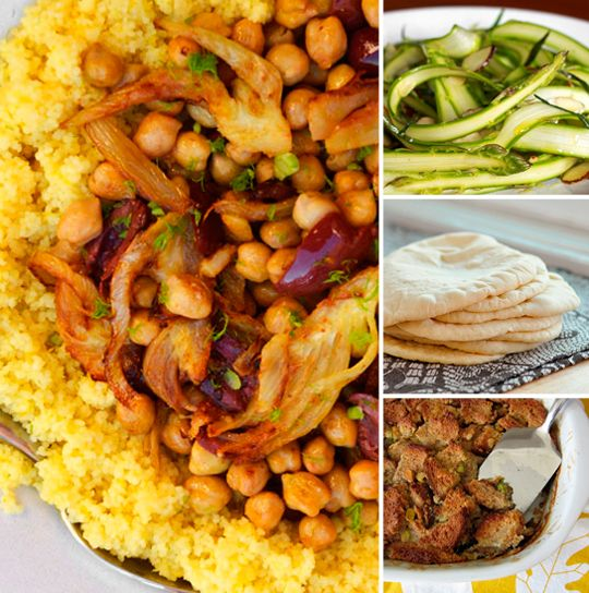 ... Dinner Party - Including Couscous with Chickpeas, Fennel & Citrus