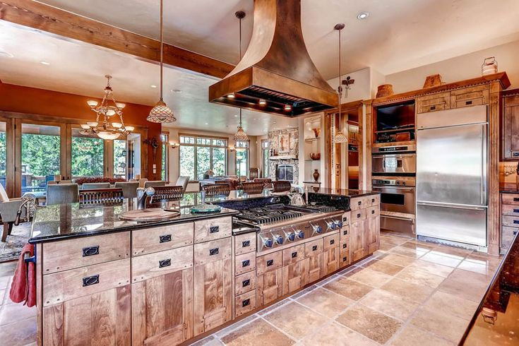 """29 Custom Solid Wood Kitchens (Cabinet Designs)"""