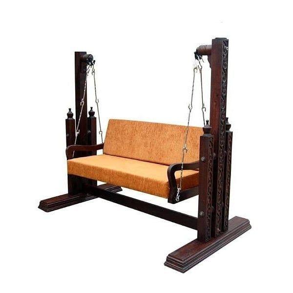 Seesham Wood Indoor Jhula By Samarthcrafts Furniture Living Room Sofa Design Online Furniture #wooden #swing #for #living #room #india