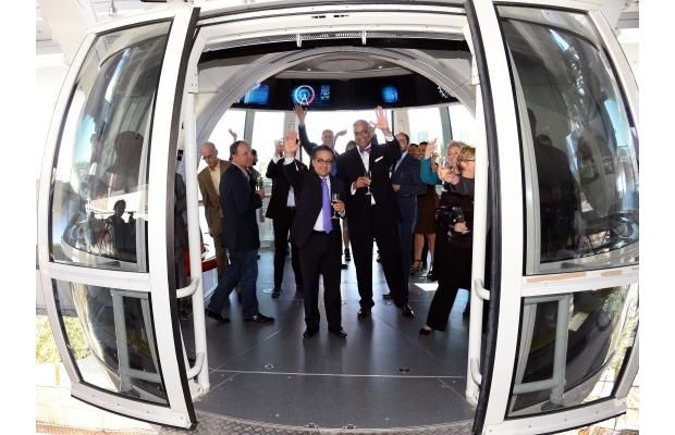 Video: World's highest observation wheel opens in Las Vegas