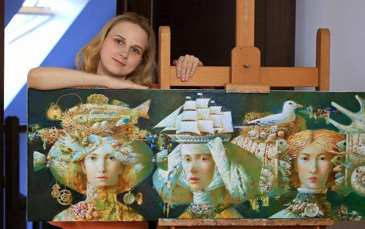 © Anna Berezovskaya Oil on Canvas