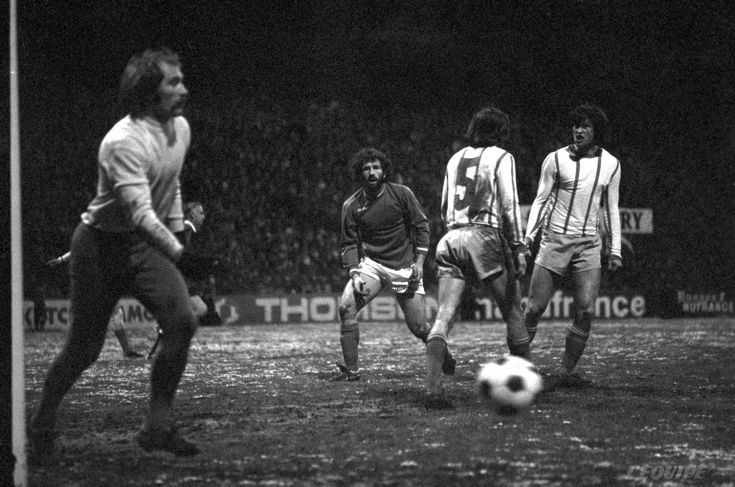 Yves Triantafilos a participé activement à la qualification des Verts (ASSE-Ruch Chorzow : 2-0, 19/03/1975)