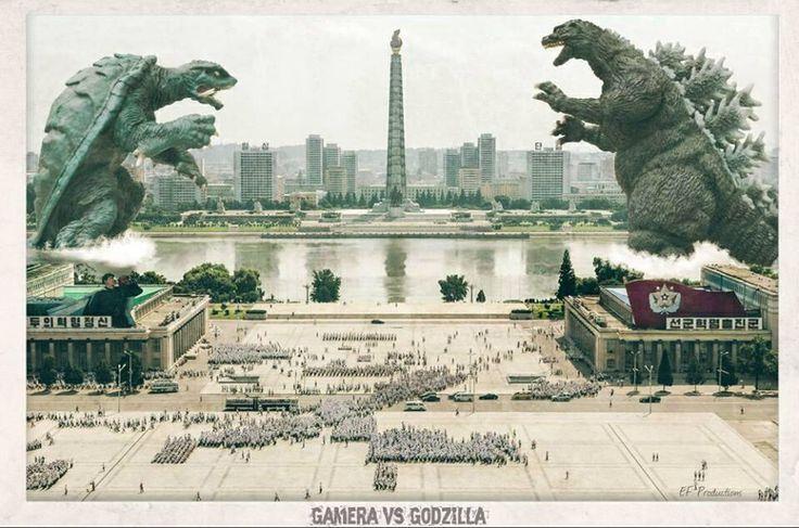 Gamera vs Godzilla