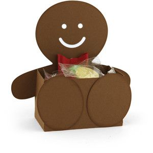 Silhouette Design Store - View Design #163093: belly box gingerbread man
