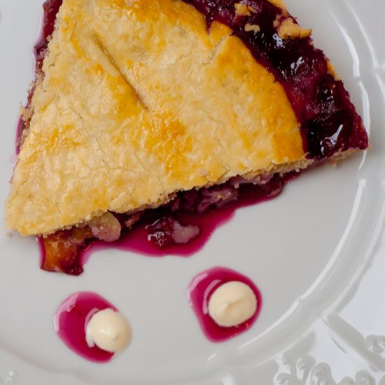 Blueberry nectarine pie Tuesdays with Dorie | eat. live. travel. write.