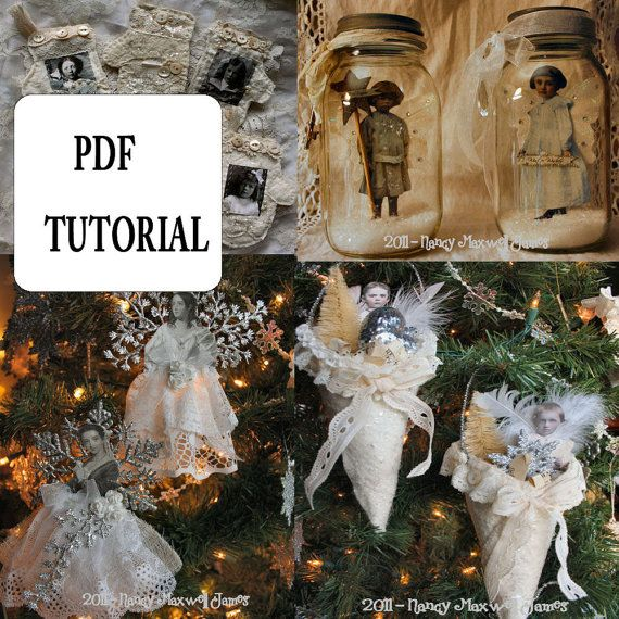 INSTANT DOWNLOAD 12 Days of Whimsy  - 12 Different Projects PDF Tutorial