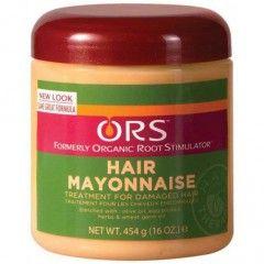 Hair Mayonnaise d'Organic Root Stimulator est un masque réparateur pour cheveux afro secs abimés 8€95 sur dinafroshop.com