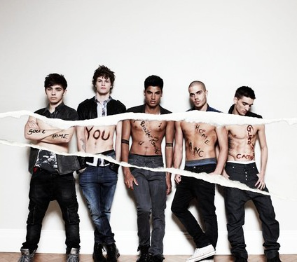 Nathan Sykes, Jay McGuiness, Siva Kaneswaran, Max George and Tom Parker - The Wanted my one direction