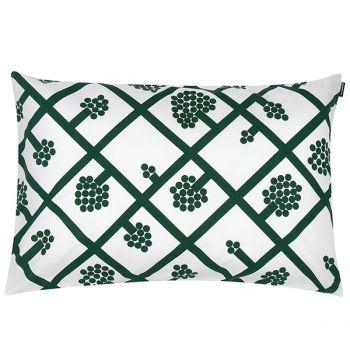 Marimekko's Spaljé cushion cover, green