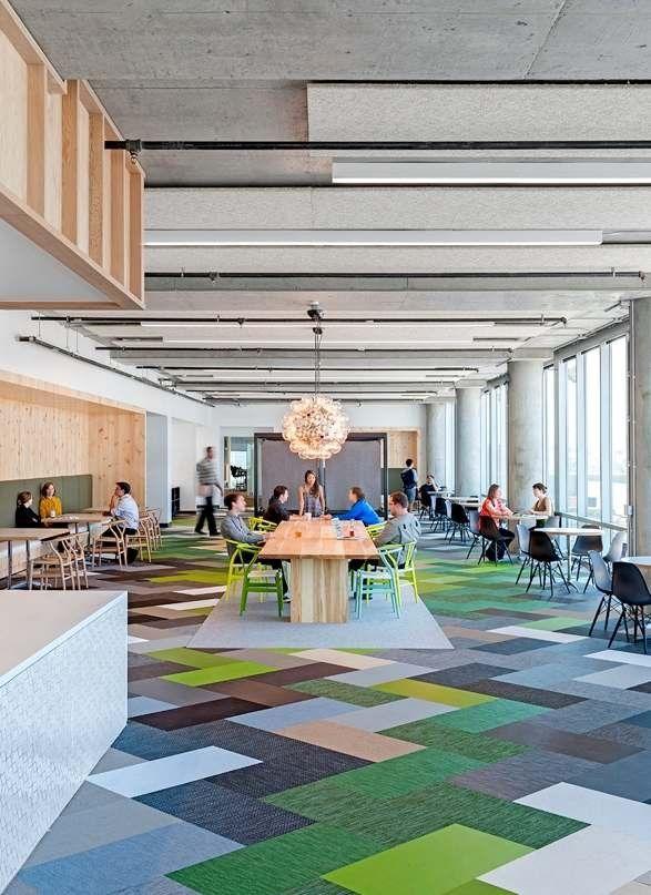 Studio O+A have designed the new offices for Cisco-Meraki in San Francisco, California