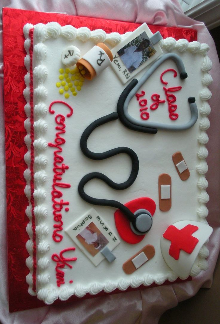 Nurse Graduation on Cake Central                                                                                                                                                     More