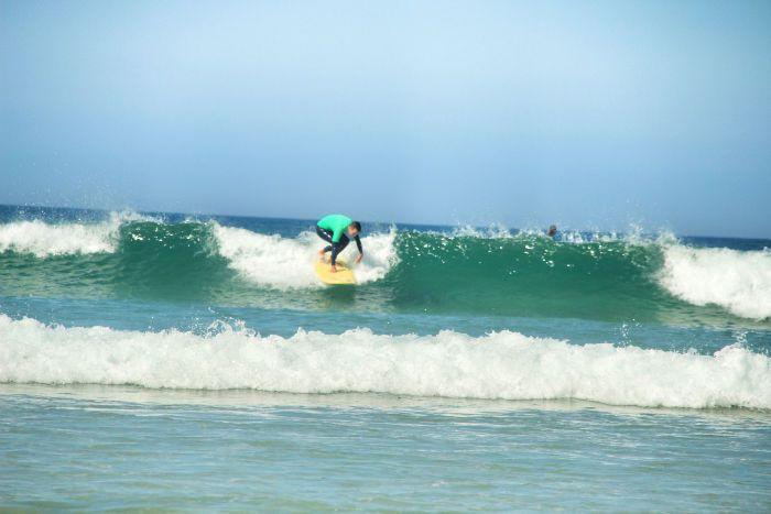 Surfen in Galizien-surfkurs