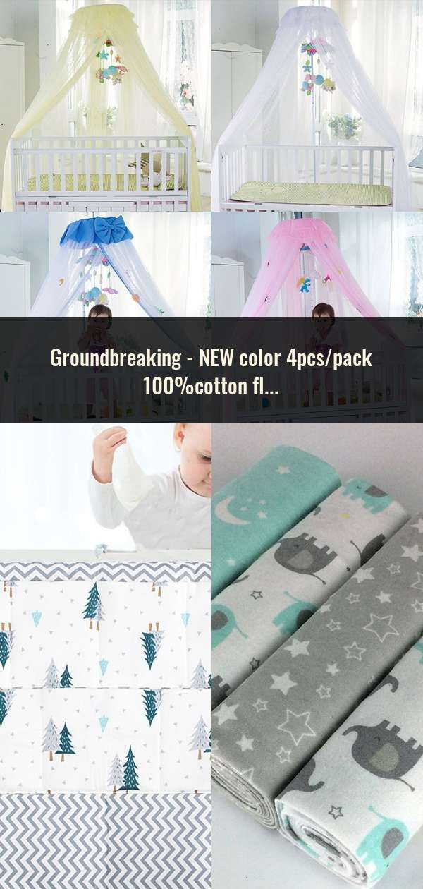 New Color 4pcs Pack 100 Cotton Flannel Receiving Baby Blanket Newborn Colorful Cobertor Baby Bedsheet Supersoft Blanket In 2020 Baby Blanket Cotton Flannel New Color