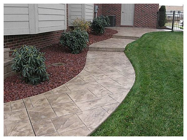 85 Best Images About Stamped Concrete On Pinterest