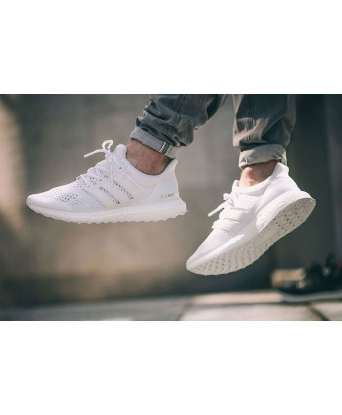 Adidas Ultra Boost Mens White  52bd5a0d5f
