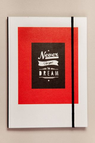 Dream Journal - comes with built in compartment for a light up pen so you can write in the dark