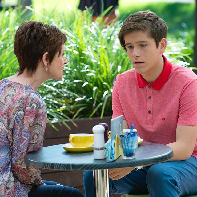 Angus discovers the truth about his mum… how will he react? #Neighbours @officialjaiwaetford