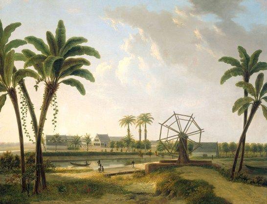 Gezicht op de koffieplantage Meerzorg. Door Willem de Klerk (1876) – collectie Rijksmuseum