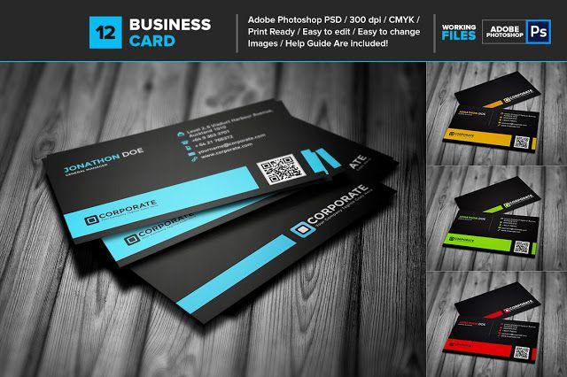 كارت شخصى مميز بصيغة Psd مفتوح المصدر لعمل تصميم كارت شخصى لك ولشركتك ولعملائك ا Unique Business Cards Design Professional Business Cards Unique Business Cards