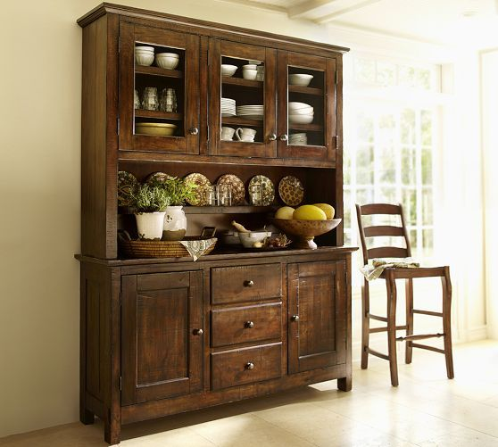 Hutch For Dining Room: Benchwright Buffet In 2019