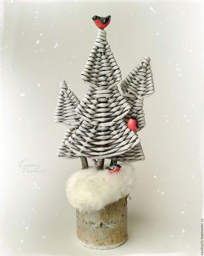 'Лесок. Снегири' Новогодняя композиция (резерв)