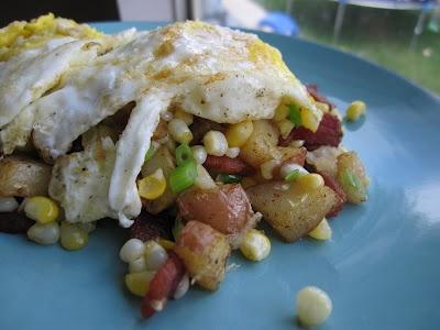 Bacon Corn Hash - Yum!   Main Dishes ~ Please Pass A Plate   Pinterest