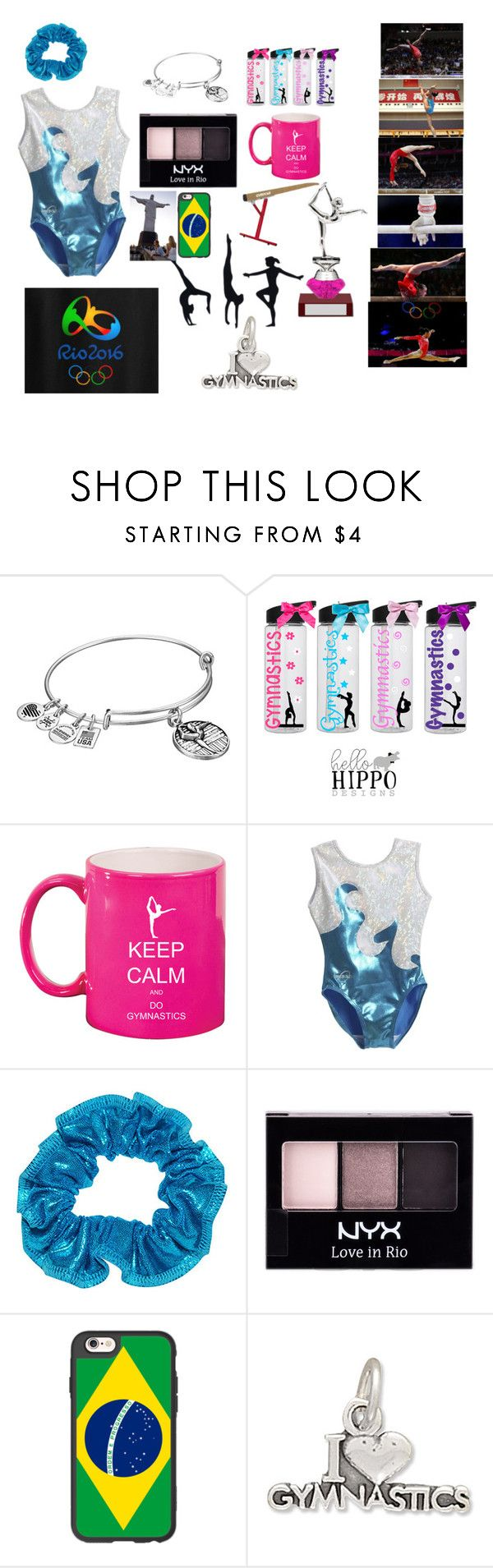 """Olympics Rio 2016 Gymnastics"" by puddles-6 ❤ liked on Polyvore featuring Alex and Ani, Olympia, NYX, Casetify and BillyTheTree"