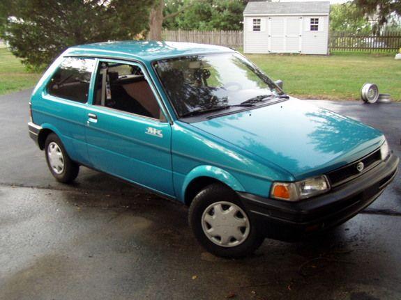Subaru Justy Hatchback with Old School Design