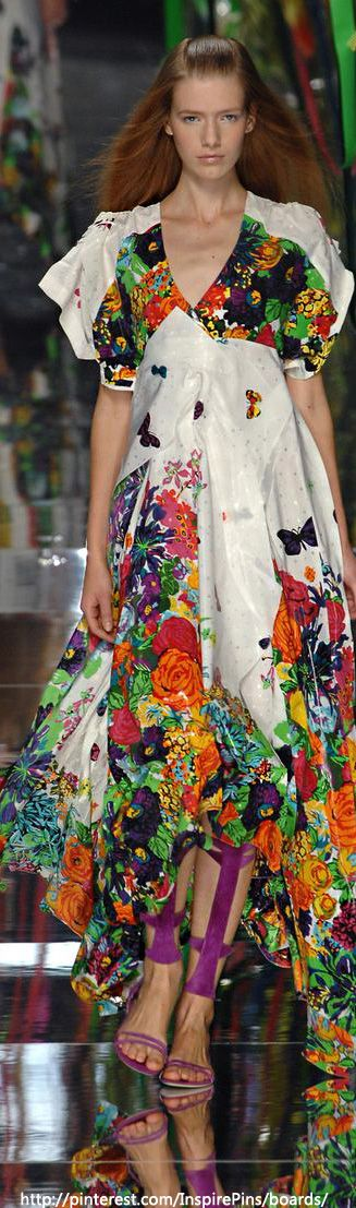 #LivingLifeInFullBloom  ❀ Flower Maiden Fantasy ❀ beautiful photography of women and flowers - Kenzo