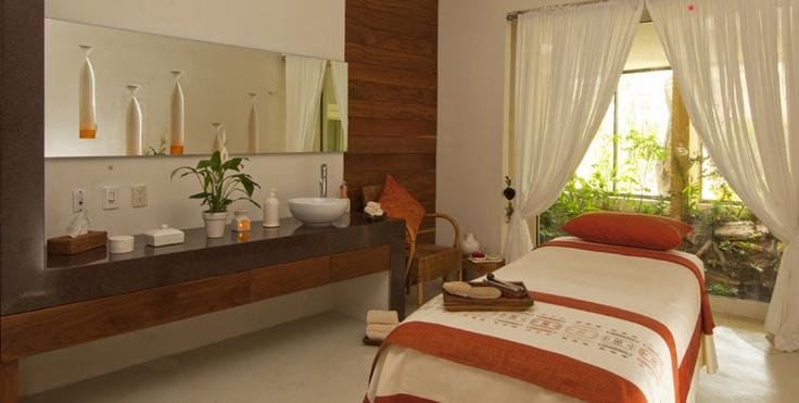 This Spa room at Grand Velas Riviera Maya looks so relaxing!
