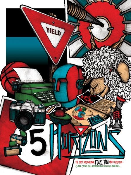 FIVEHORIZONS' Official Poster / Brad Klausen