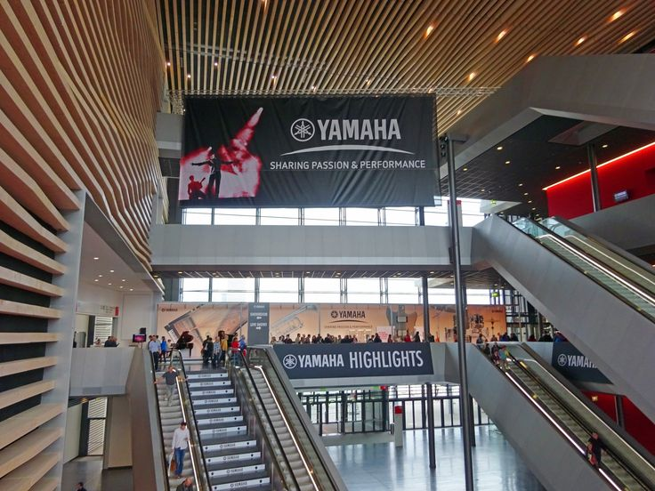 Musikmesse 2017: Yamaha to once again present the company and brands in the entire Portalhaus building