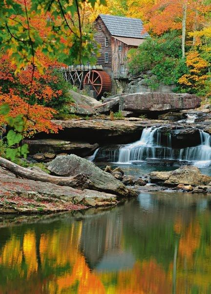Grist Mill Wall Mural