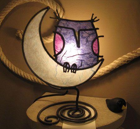 As criativas Luminárias artesanais da Lampa Dani                              …
