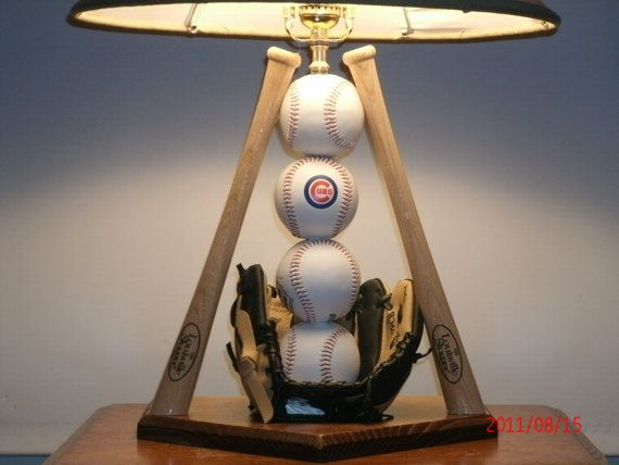 Ultimate Baseball Lamp All 32 teams by Midwestclassiccrafts, $84.50