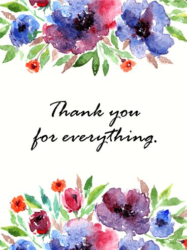 48 best thank you cards images on pinterest card birthday thank send free thank you flower card to loved ones on birthday greeting cards by davia its free and you also can use your own customized birthday calendar m4hsunfo