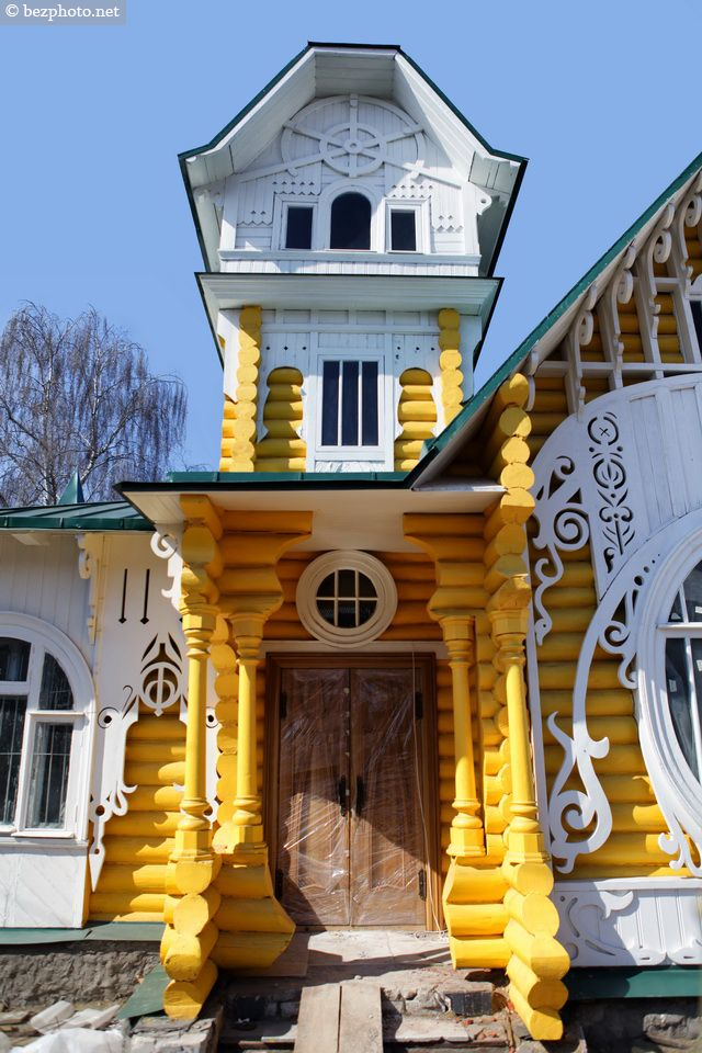 bezphoto: Wooden architecture of Russia: Luzhin`s mansion in...